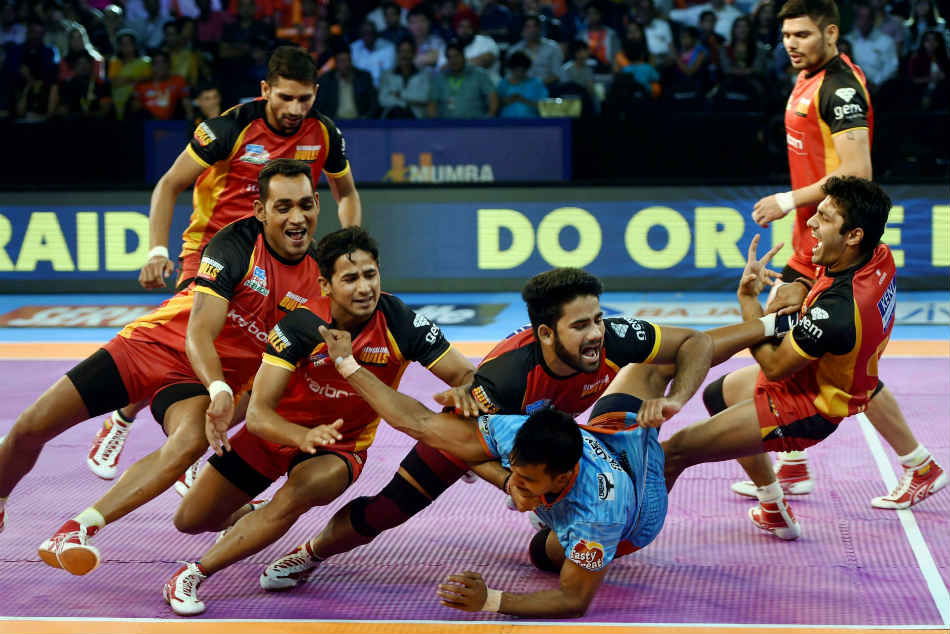 Pro Kabaddi League 2017 Bengal Warriors Thrash Bengaluru Bulls
