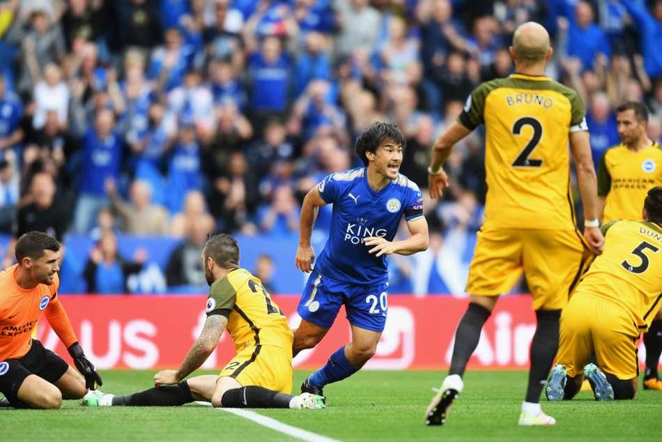 Leicester City 2 Brighton And Hove Albion 0 Okazaki Maguire Comfortable Win