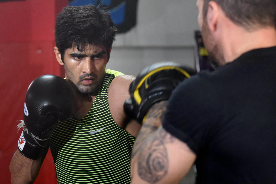 Boxing All Indian Undercard Vijender Fight Night