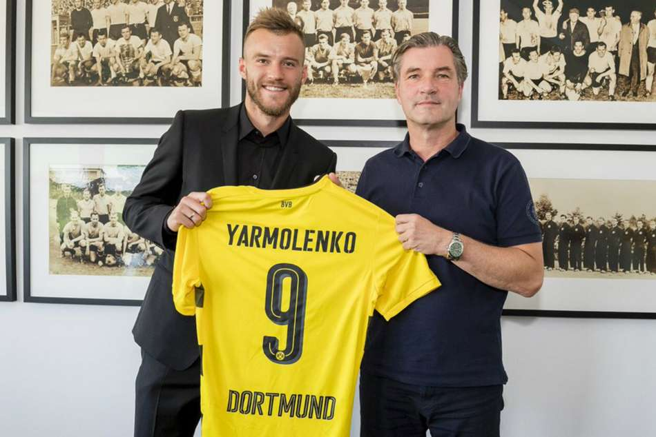 Dortmund Land Yarmolenko After Ousmane Dembele Exit