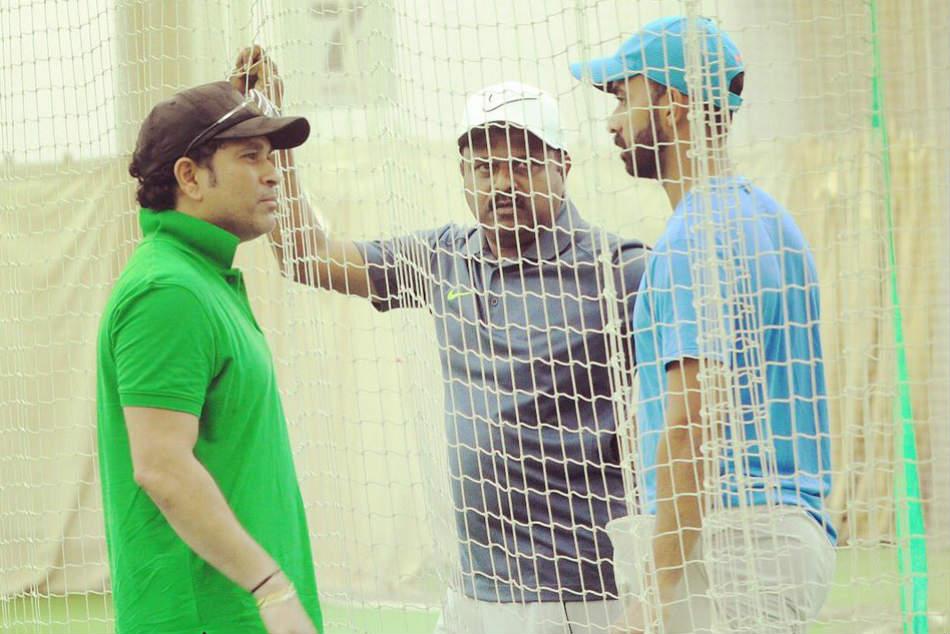Batting Maestro Sachin Tendulkar Advises Ajinkya Rahane