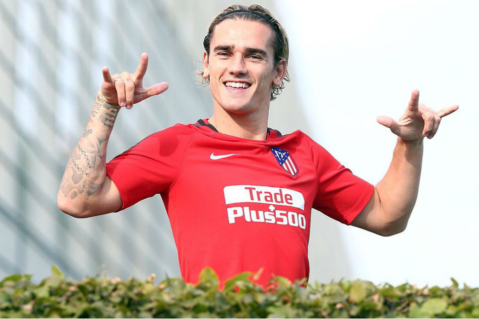 File Photo: France and Atletico Madrid forward Antoine Griezmann (Image Courtesy: Griezmann twitter)