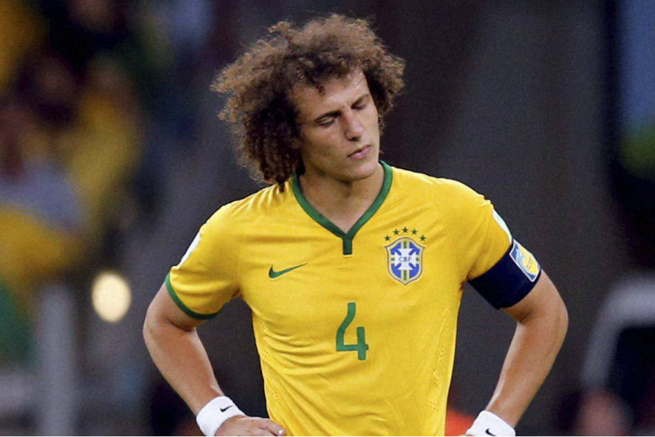 David Luiz Broke His Wrist Arsenal Draw