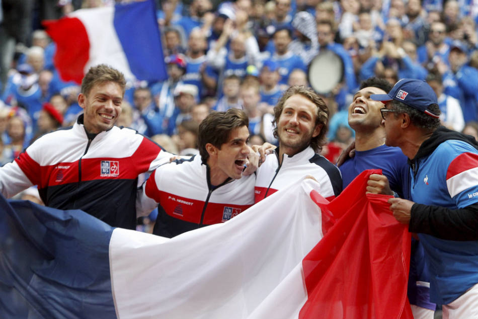 Davis Cup Tsonga Sends France Into Final