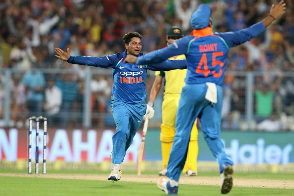 Sachin Tendulkar Harbhajan Singh Cricketers Hail Hat Trick Man Kuldeep Yadav