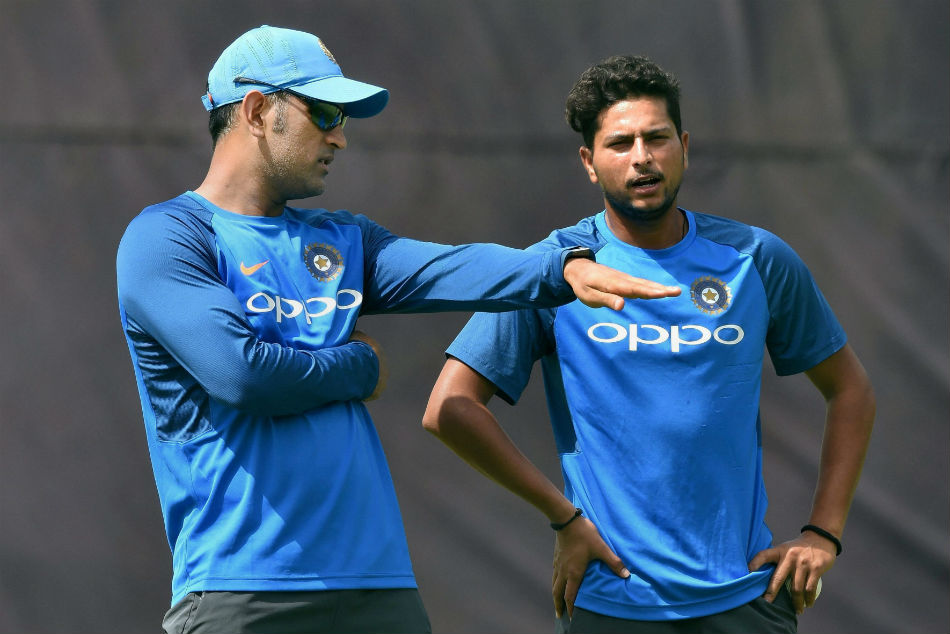 Kuldeep Yadav Reveals How Ms Dhoni Helped Him Claim His Maiden Odi Hat Trick