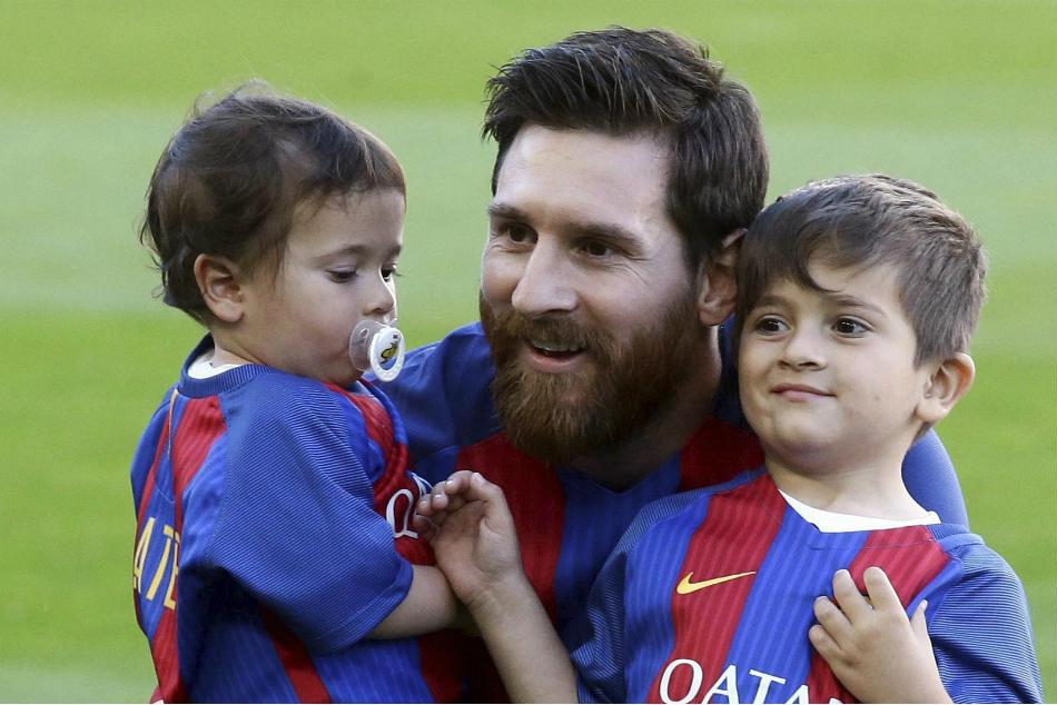 Messi Kind