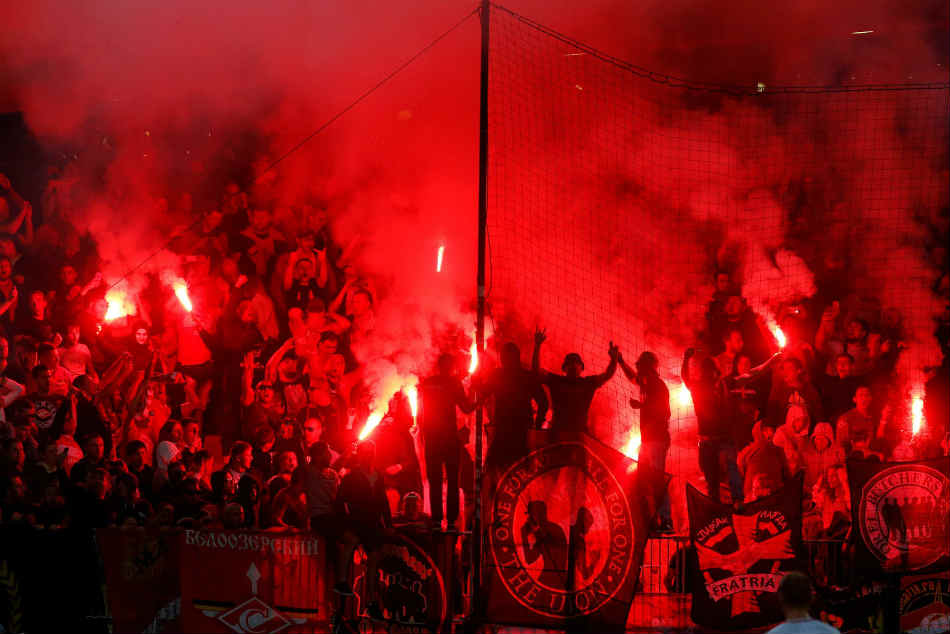 Spartak Moscow fans