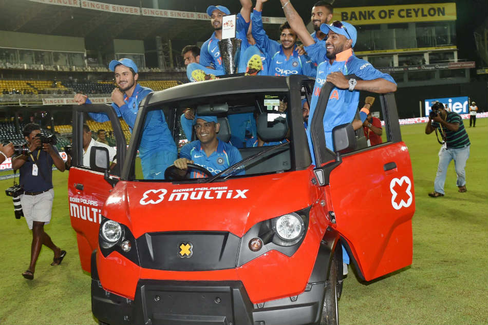 MS Dhoni goes for a bike ride in Kolkata as plan to practice at shooting range gets cancelled