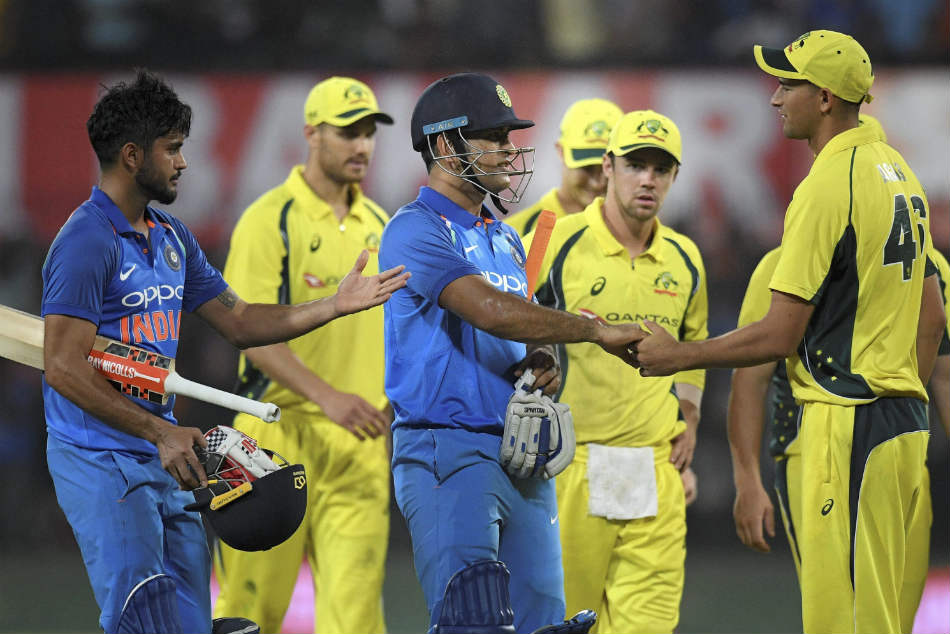 India Vs Australia 3rd Odi Virat Kohli Boys Register 9th Successive Win Highlights
