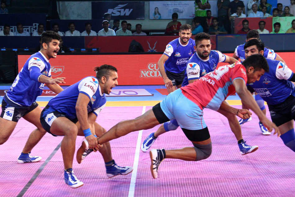 Pkl 2017 Haryana Steelers End Home Leg With Tie Against Jaipur Pink Panthers