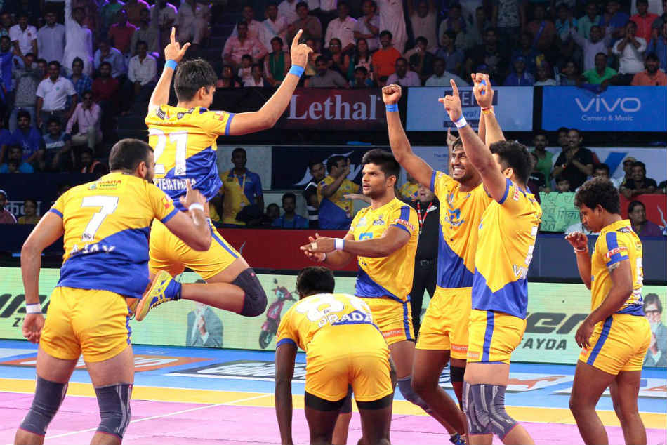Tamil Thalaivas edge UP Yoddha