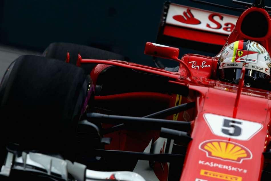 Sebastian Vettel Grabs Pole Position At Singapore Grand Prix