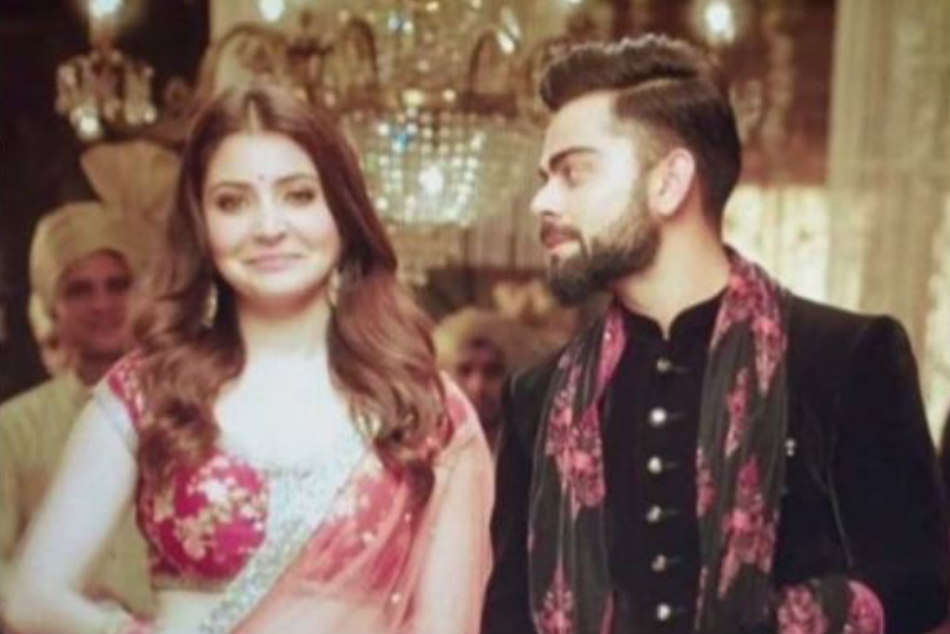 Virat Kohli shoots new TV ad with lady love Anushka Sharma, fans mesmerised by their chemistry