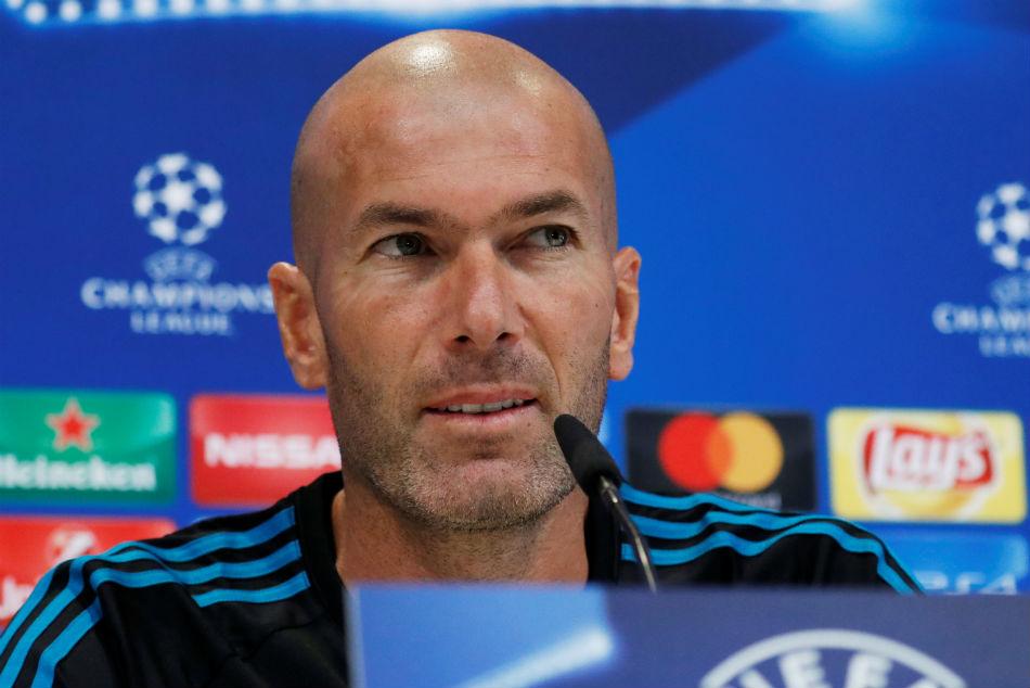 Real Madrid Coach Zidane Renews Contract