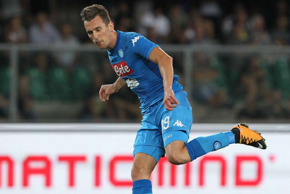 Injured Napoli Striker Milik Hints At Loan Move