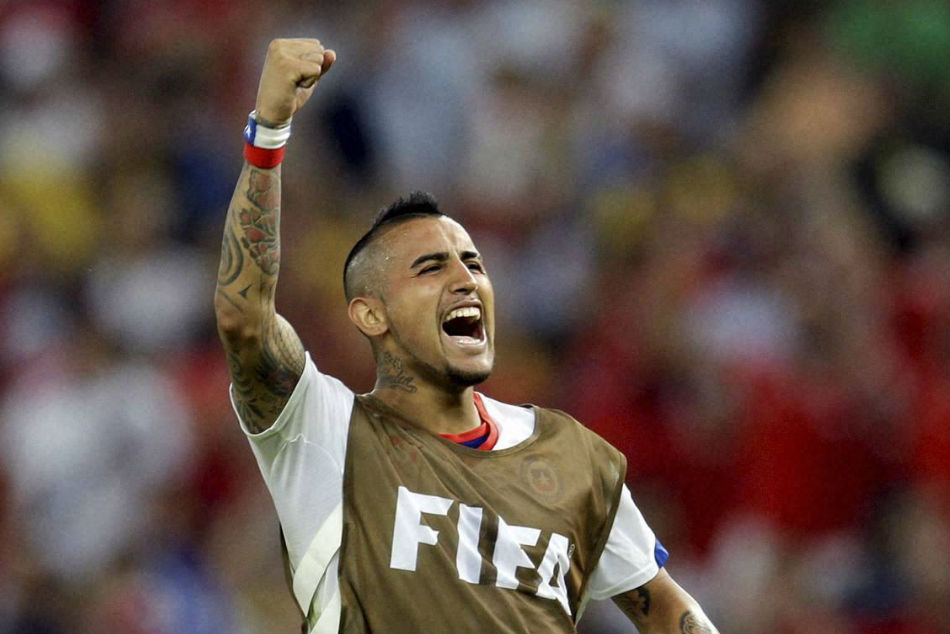 Chile and Barcelona midfielder Arturo Vidal