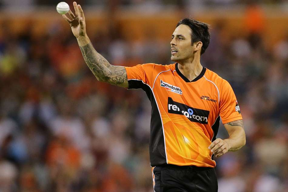 Mitchell Johnson Perth Scorchers Bbl