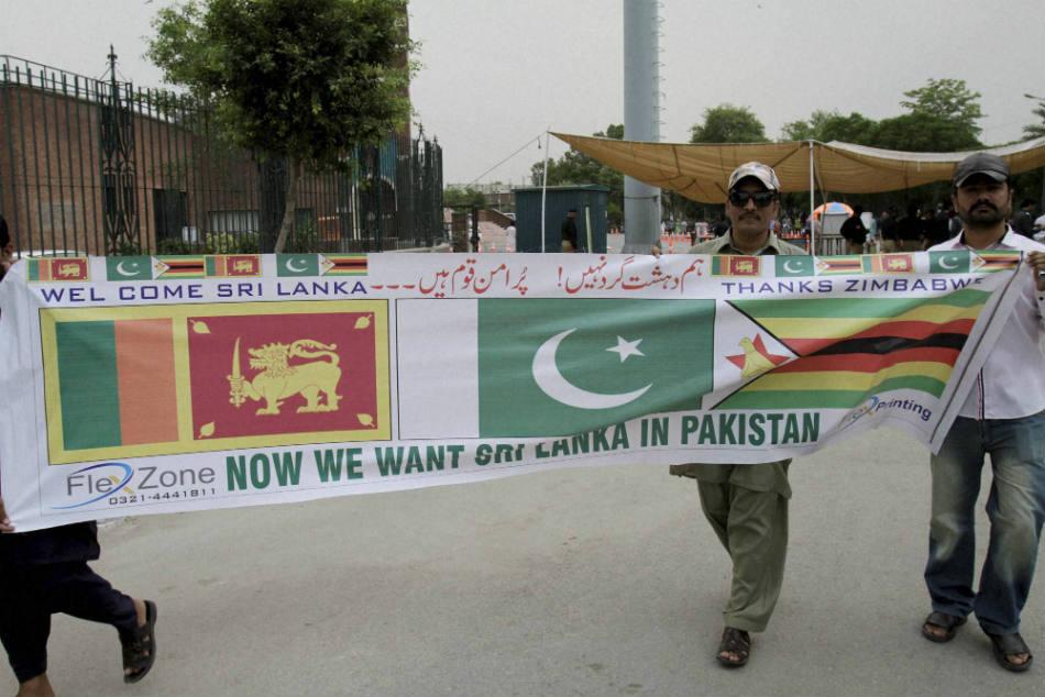 Lankan Cricket Team Security Assured Lahore Pakistan Fs