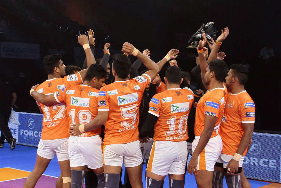 Pkl 2017 Puneri Paltan S Home Leg Begins On Disappointing Note Vs Gujarat Fortunegiants