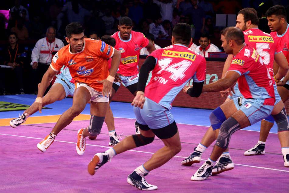 Pkl 2017 Puneri Paltan Bounce Back Register Win Against Jai