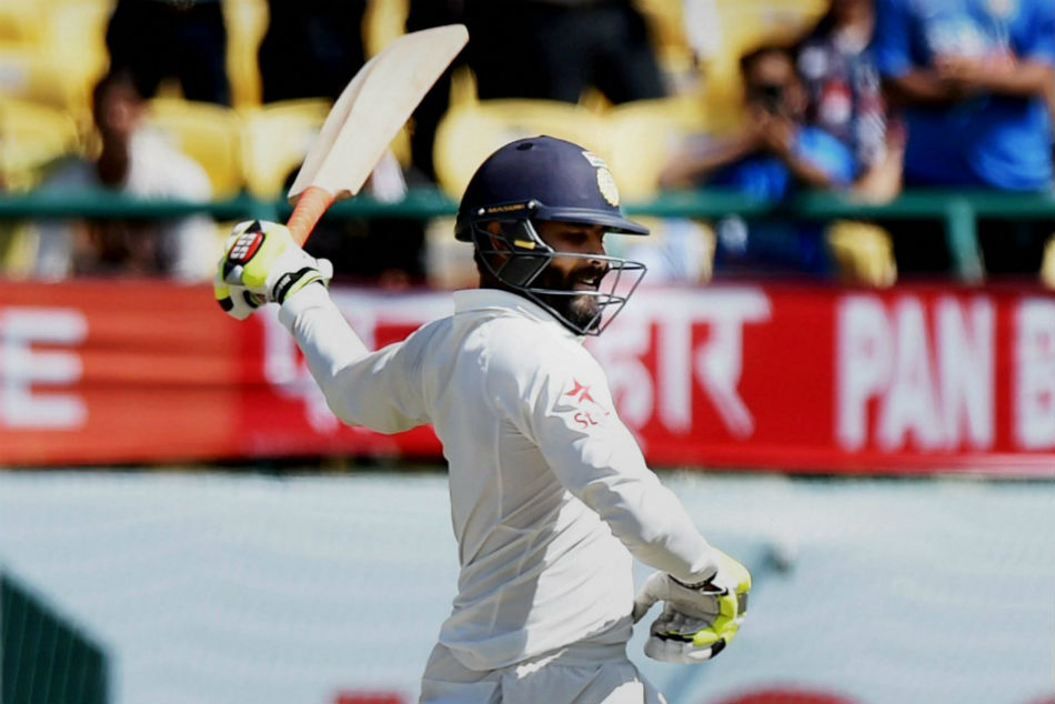 Ravindra Jadeja Slams Double Ton Against Jammu Kashmir Ranji Trophy