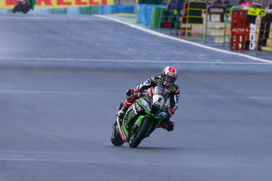 Red Carpet Welcome World Superbike Champion Rea