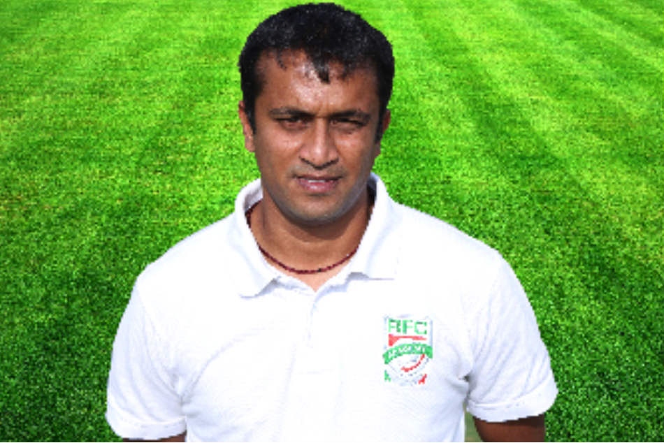 Sharath Kamath, a former CIL player, is the Rebels FC Football Academy's coach