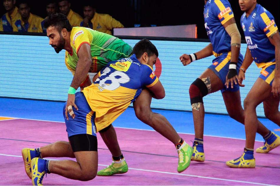 Pro Kabaddi League 2017 Tamil Thalaivas Dent Patna Pirates