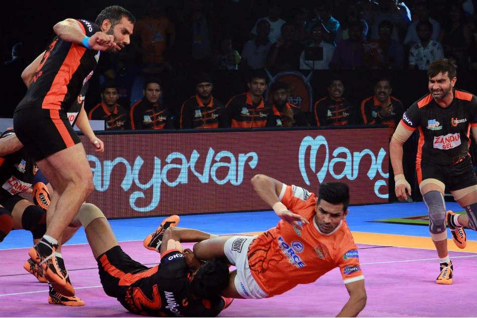 Pro Kabaddi League 2017 Puneri Paltan Crush Maharashtra Rivals U Mumba