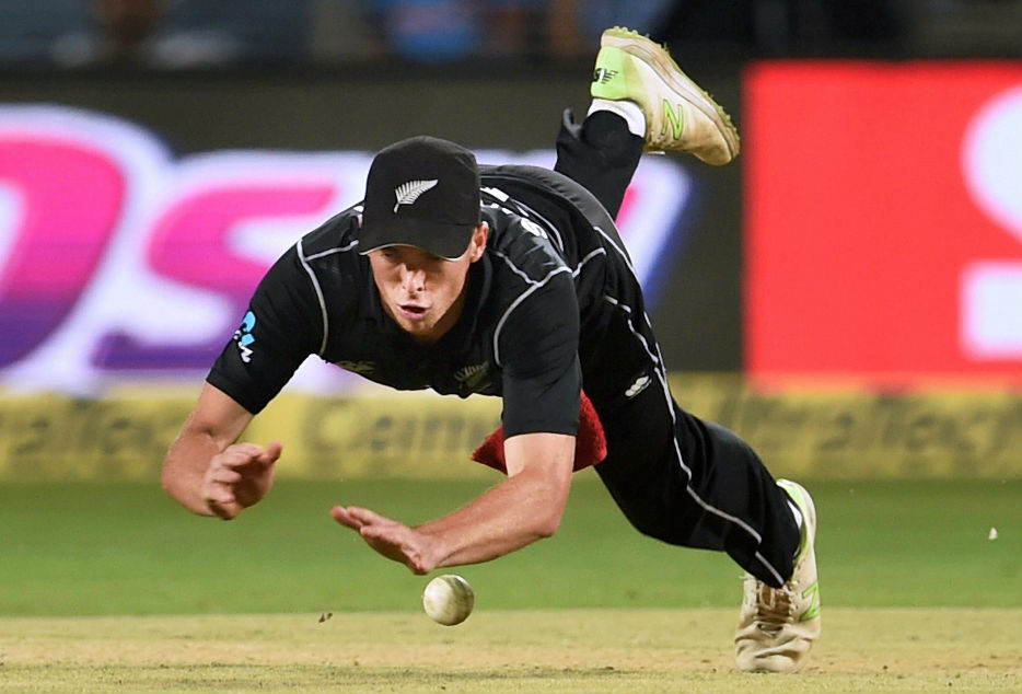 Mitchell Santner missed a few catches in the Rajkot game.
