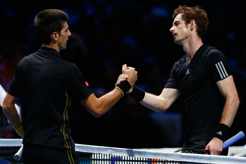 Both Andy Murray and Novak Djokovic have fallen out of the Top 10 in the latest ATP rankings.