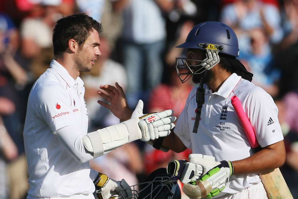 Memorable Ashes Moments Anderson And Panesar Defy Australia In Cardiff