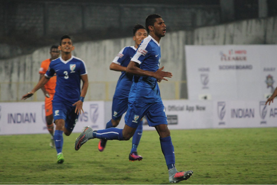 Aniket Jadhav, Indian Arrows winger