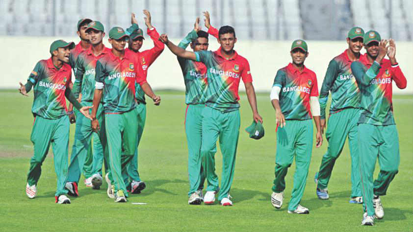 Bangladesh knock defending champions India out of U19 Asia Cup