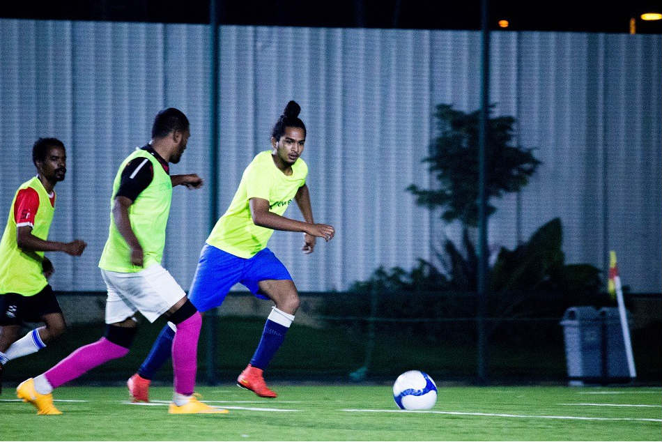 FC Deccan players during a training session in Bengaluru
