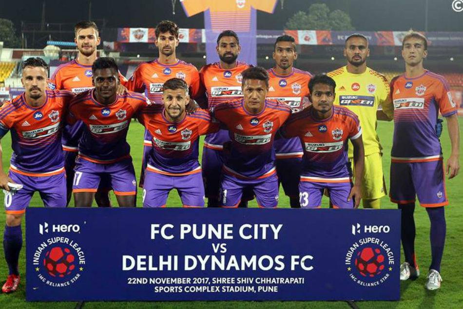 Delhi Beat Pune Isl Five Goal Thriller