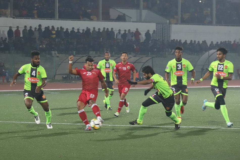 Deory Striker Wins It Shillong Lajong Against Gokulam Kerala
