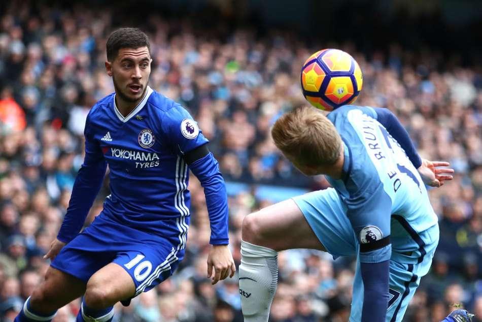 De Bruyne The Best In The Premier League Says Hazard