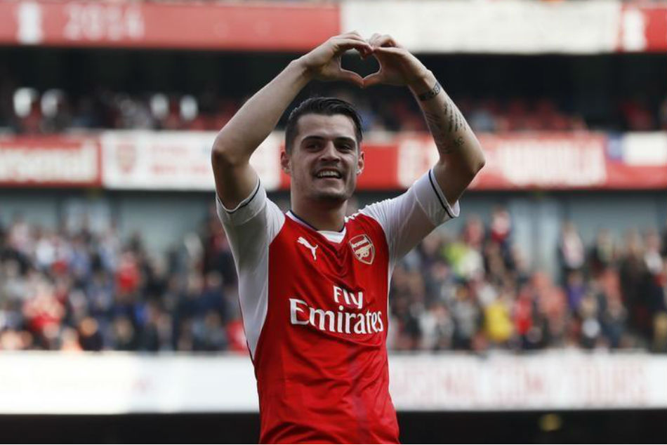 Arsenal Can Catch Manchester City Title Race Xhaka
