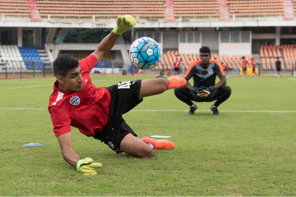 Gurpreet Singh Sandhu, the India No 1