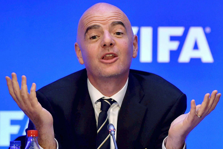 FIFA President Gianni Infantino lavished huge praise on India.