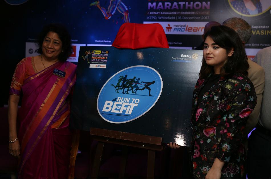 Bengaluru Midnight Marathon Theme Unveiled