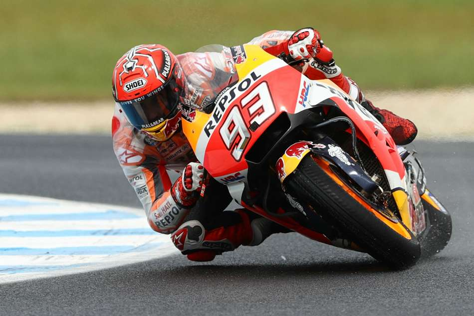 Motogp Advantage Marquez As Dovizioso Struggles