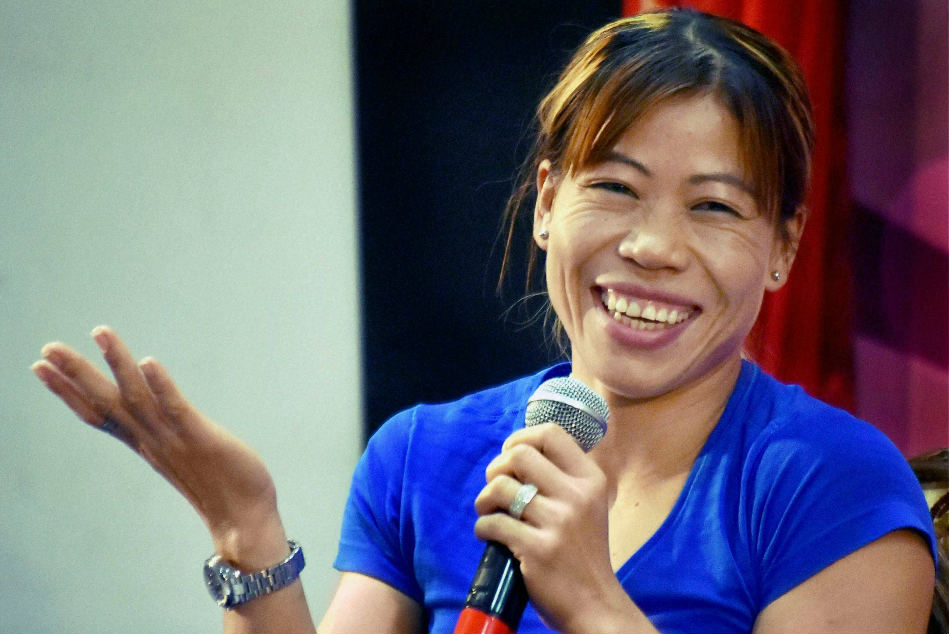 MC Mary Kom scripted history by becoming the first boxer to claim five gold medals at the continental meet.
