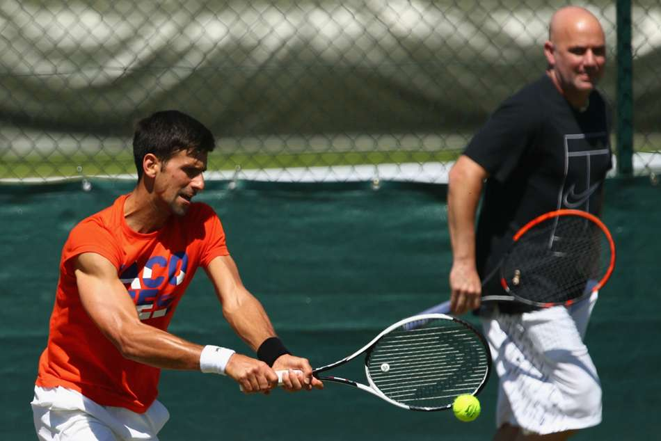 Djokovic can return to the top without me, says Agassi