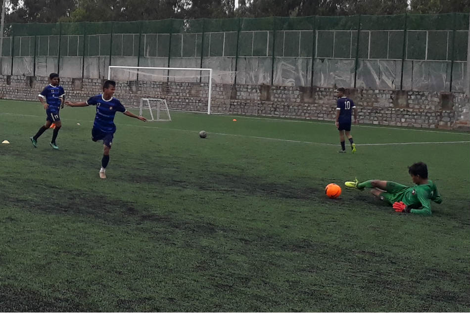 Only Sky Is The Limit Ozone S Residential Football Academy