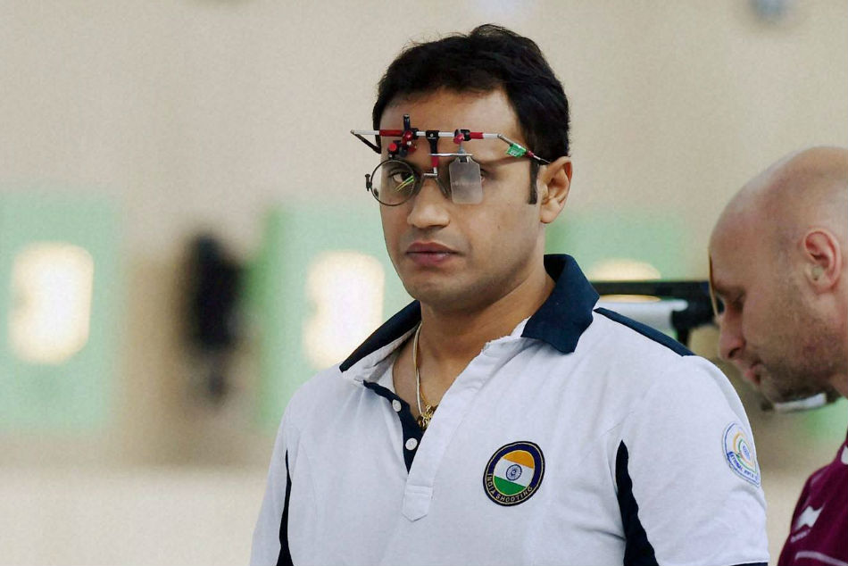 Prakash Nanjappa wins gold in 50m pistol event
