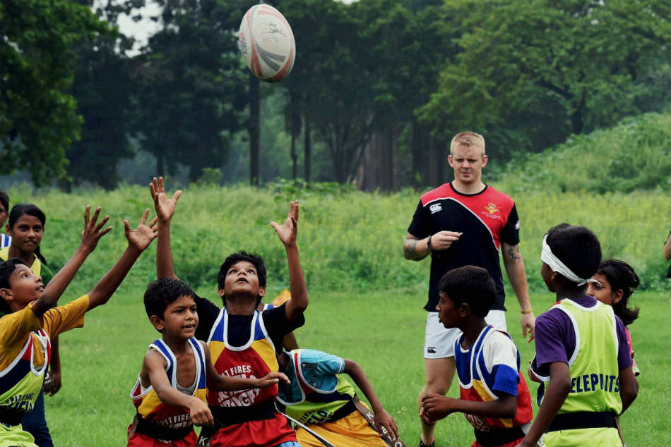 KISS making silent revolution in the game of rugby with the help of tribal students in Odisha