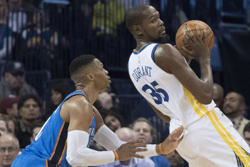 Thunder Roll As Westbrook Goes Off Against Warriors Cavs Wi